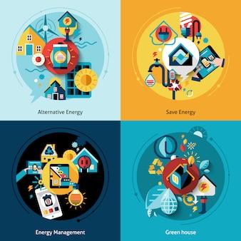 Conjunto de eficiencia energética
