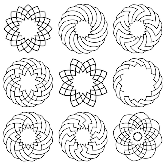 Conjunto de elementos para árabe