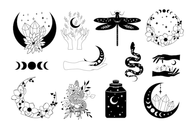 Conjunto de elementos celestes