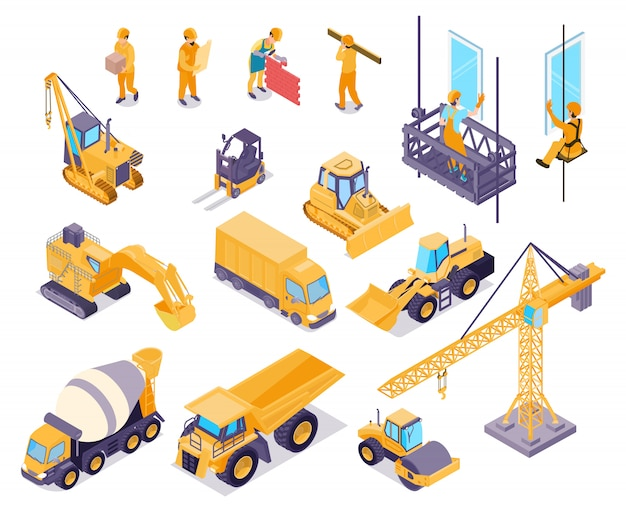 Conjunto de elementos de construcción
