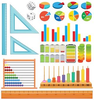 Conjunto de elementos matemáticos
