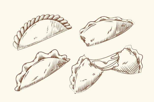 Conjunto empanada