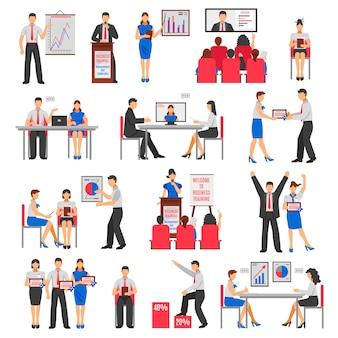 Conjunto de entrenamiento de negocios
