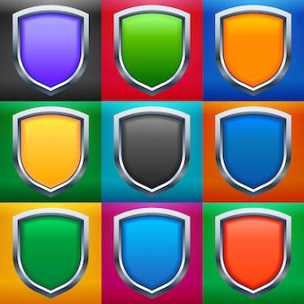 Conjunto de escudos