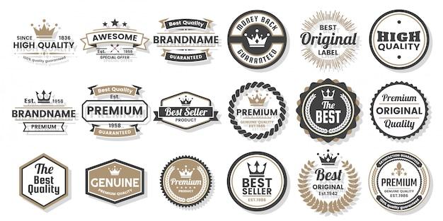 Conjunto de etiquetas