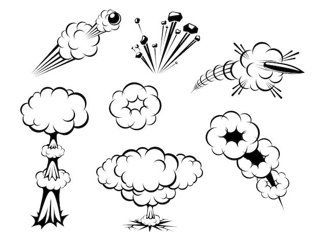 Conjunto de explosiones