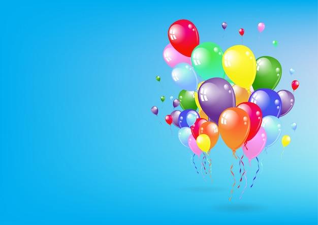 Conjunto de fiesta en globo