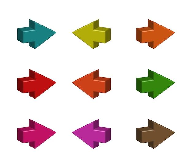 Conjunto de flechas