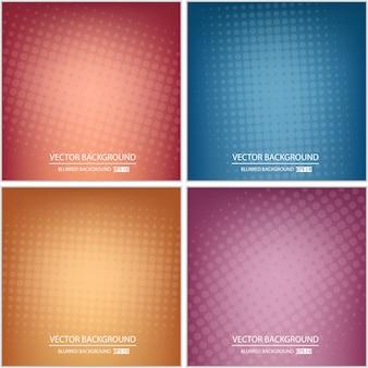 Conjunto de fondo o cubierta multicolor mínimo abstracto.