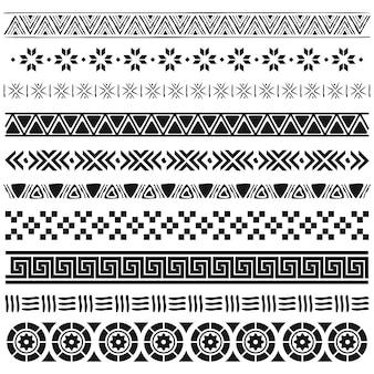 Conjunto de fronteras aztecas