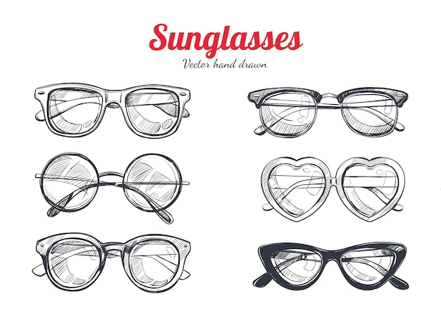 Conjunto de gafas de sol de protección solar de verano