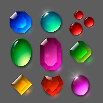 Conjunto de gemas
