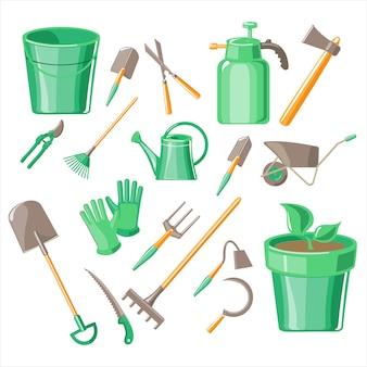 Conjunto de herramientas de jardinería
