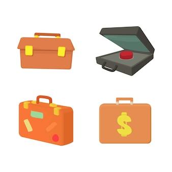 Conjunto de iconos de caso