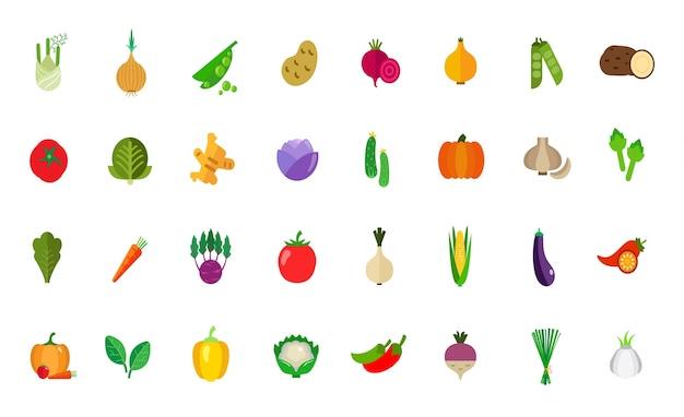Conjunto de iconos de cosecha