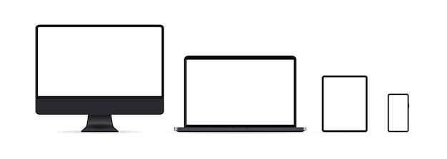 Conjunto de iconos de dispositivos