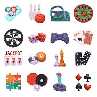 Conjunto de iconos de juego