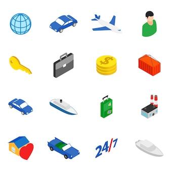 Conjunto de iconos de movimiento