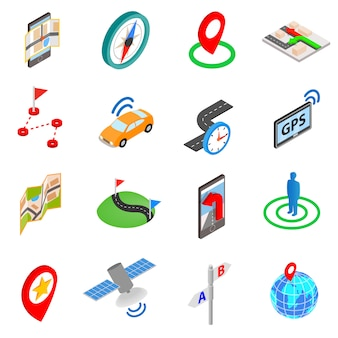 Conjunto de iconos de navegación
