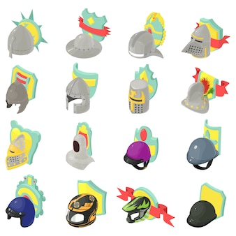 Conjunto de iconos de protección