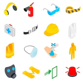 Conjunto de iconos de seguridad