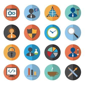 Conjunto de iconos seo
