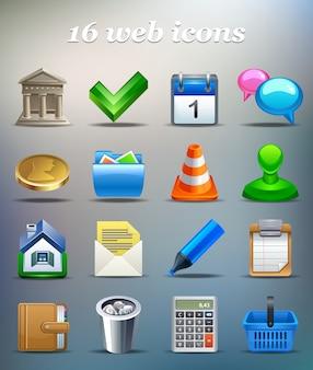 Conjunto de iconos vectoriales
