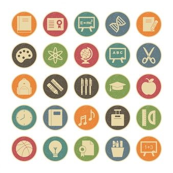 Conjunto de iconos de web para uso personal y comercial.