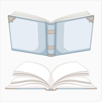 Conjunto de ilustraciones de libros