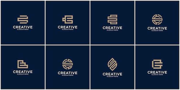 Conjunto inicial de inspiración para el diseño del logotipo e