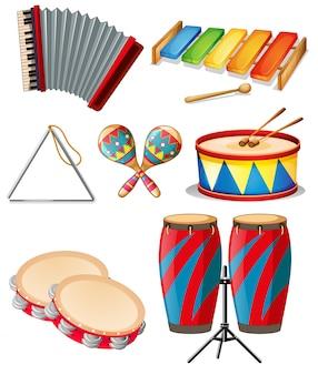 Conjunto de instrumento musical