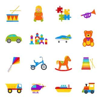 Conjunto de juguetes para bebés,
