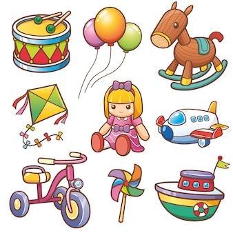 Conjunto de juguetes