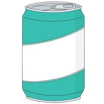 Conjunto de latas