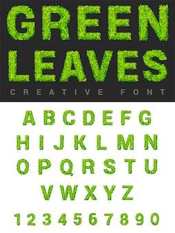 Conjunto de letras de cartel moderno con estilo abc. colección de fuentes del alfabeto.
