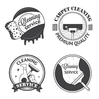 Conjunto de logos vintage.