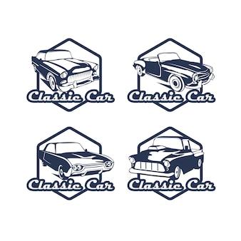 Conjunto de logotipos de automóviles