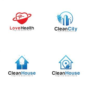 Conjunto de logotipos