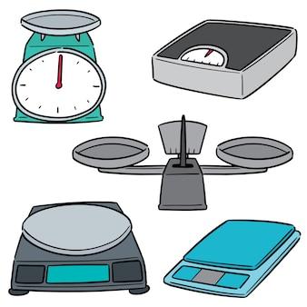 Conjunto de máquina de pesaje