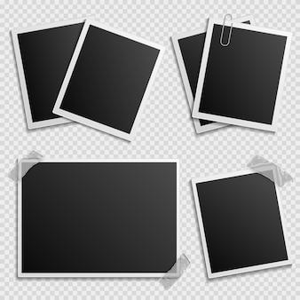 Conjunto de marcos de fotos - marcos de fotos digitales