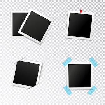 Conjunto de marcos de fotos