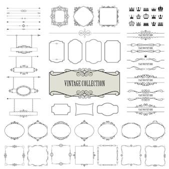 Conjunto de marcos vintage