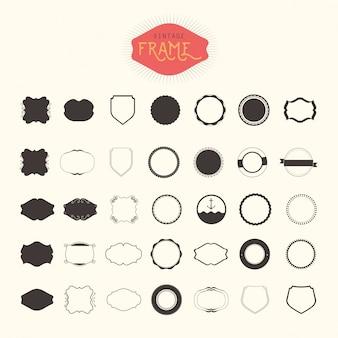 Conjunto de marcos