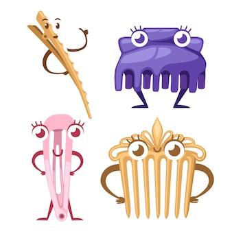Conjunto de mascota de accesorios para el cabello.