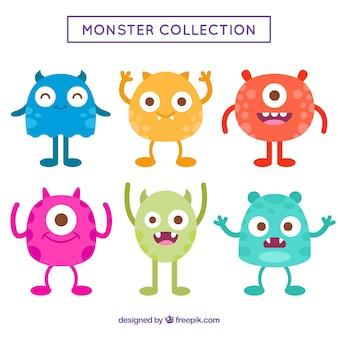 Conjunto de monstruos