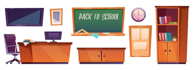 Conjunto de muebles de aula