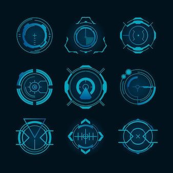Conjunto de objetivos futuristas