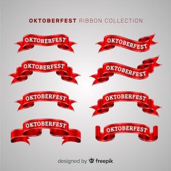 Conjunto original de cintas del oktoberfest