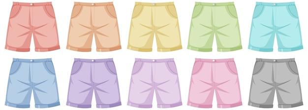 Conjunto de pantalones masculinos