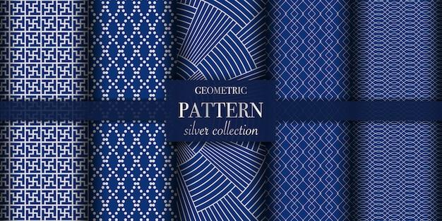 Conjunto de patrón abstracto